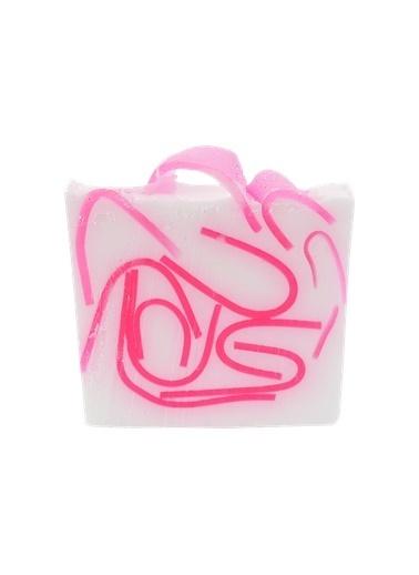 Bomb Cosmetics Tickled Pink Sabun Dilimi 100g Renkli
